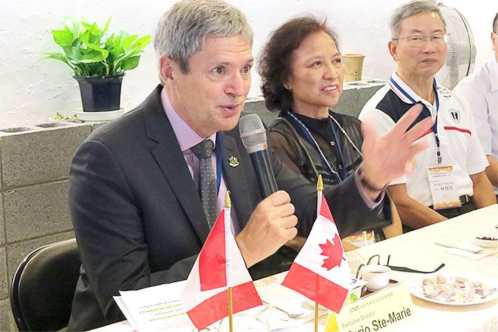 里仁啟動國際共好經濟力,加拿大週展現成果