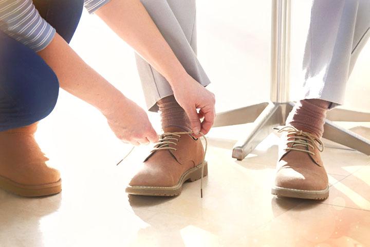 為父親買鞋